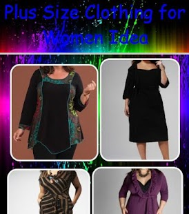plus size clothing for women idea - android apps on google play