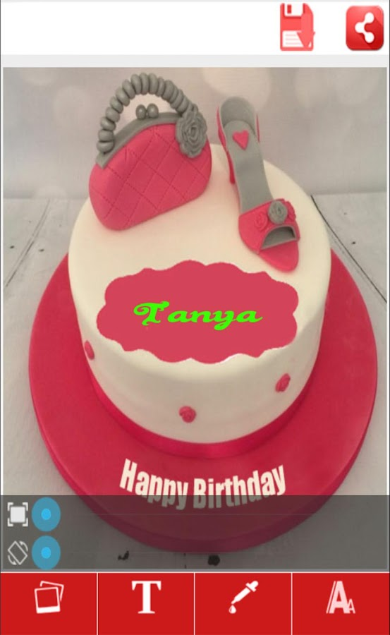 My Name Art On Birthday Cake Android Apps on Google Play