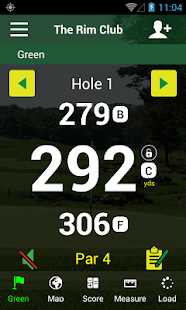 Golf GPS APP-FreeCaddie Pro- screenshot thumbnail
