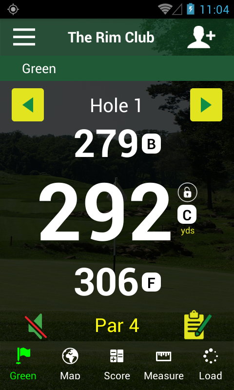 Golf GPS APP-FreeCaddie Pro- screenshot