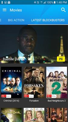 BigPond Movies - screenshot