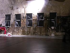Photo: © Olivier Perrot Limites1997 Exposition  Chapelle des Recollets, Paris 2004