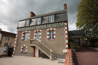"Photo: Museum ""Dead Man's Corner"" in Saint-Come-du-Mont"