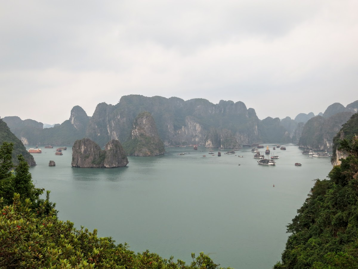 Halong Bay from Tip Top Island