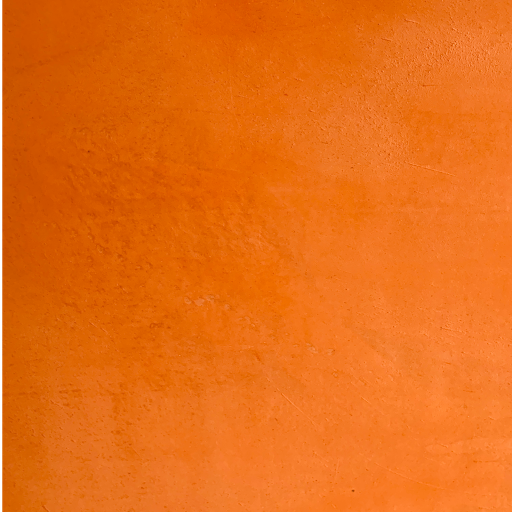 Beton cire orange