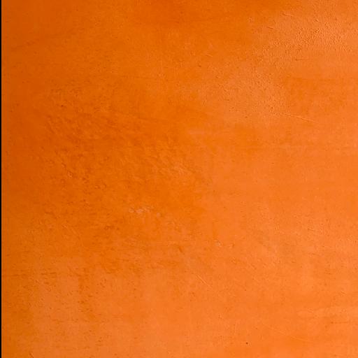 Beton cire orange