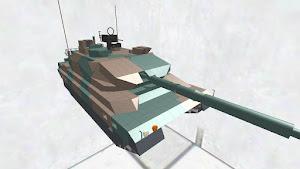 10式戦車 ディティールちょいアップ版