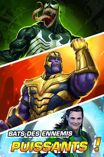 Télécharger MARVEL Puzzle Quest : bataille des Super Héros ! APK MOD (Astuce) screenshots 1