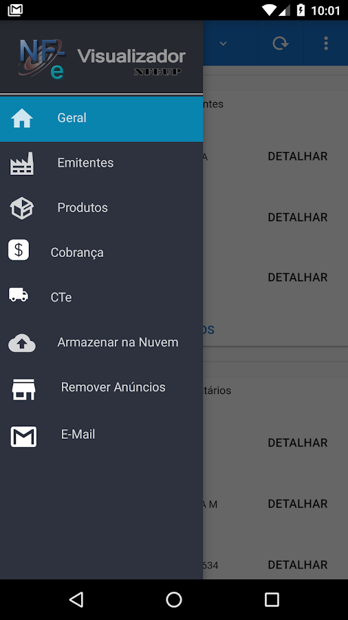 NFe Visualizador- screenshot