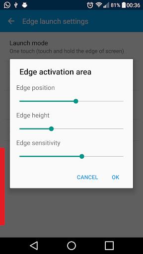Edge Launcher screenshot 7