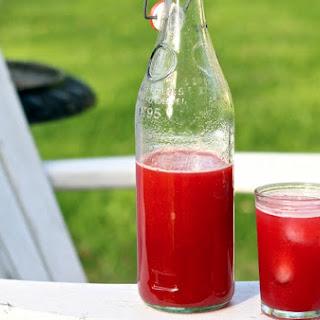 Rosemary Strawberry-Blackberry Aguas Frescas