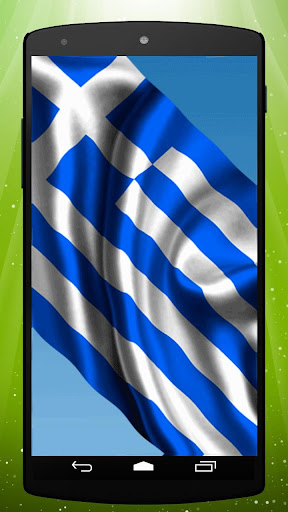 Greek Flag Live Wallpaper