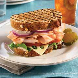 Mediterranean Turkey Sandwiches.