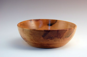 "Photo: Stan Sherman - Bowl - 8"" x 3"" - Cherry"