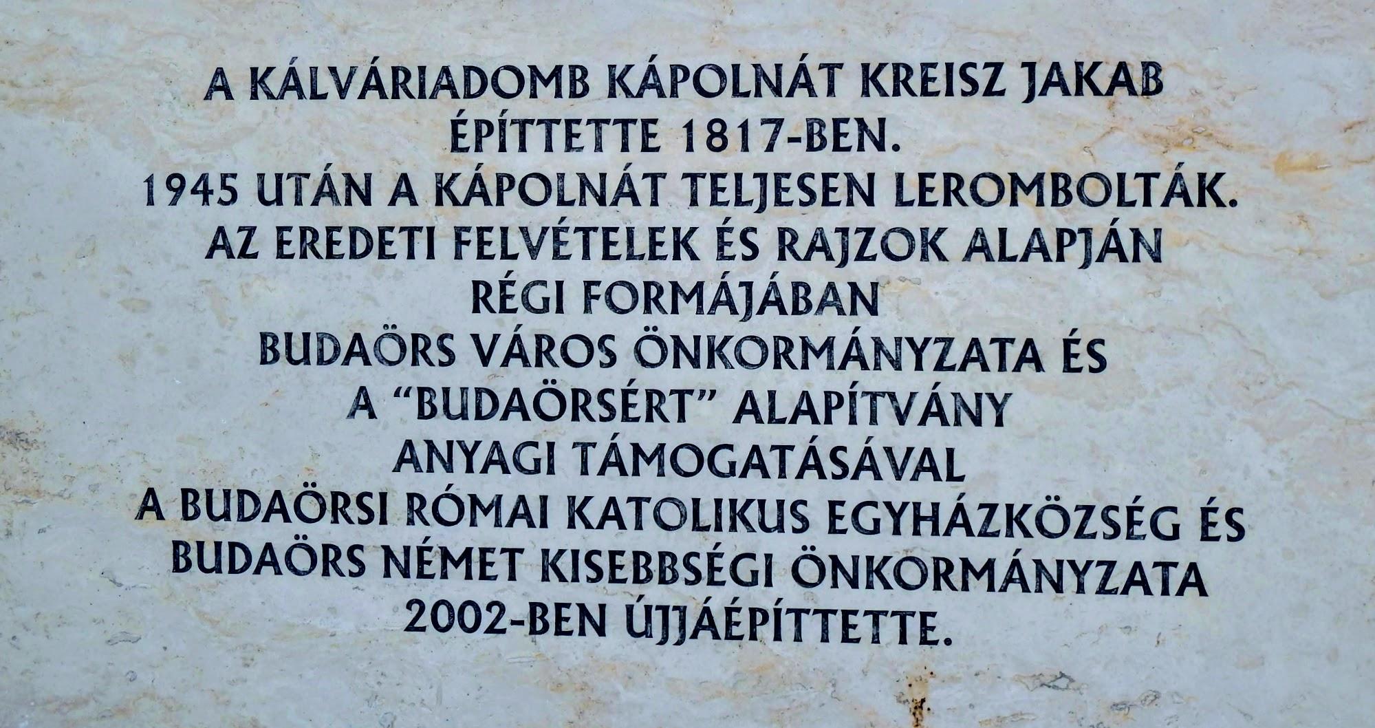 Budaörs - kálvária