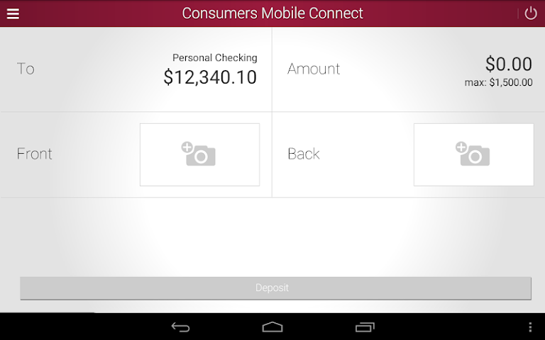 android Consumers National Bank Screenshot 9