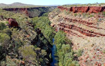 Photo: 3 ways lookout, Karijini National Park, Western Australia