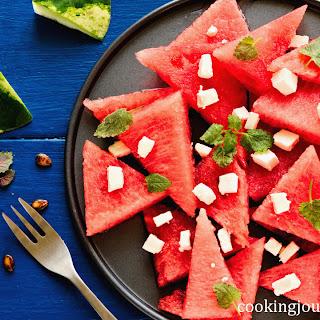 Watermelon Feta Salad.