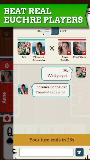 Euchre Free: Classic Card Games For Addict Players apkpoly screenshots 4