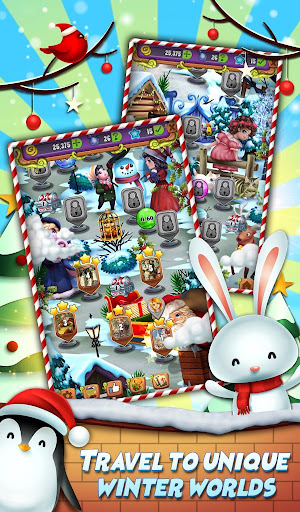 Xmas Mahjong: Christmas Holiday Magic android2mod screenshots 2