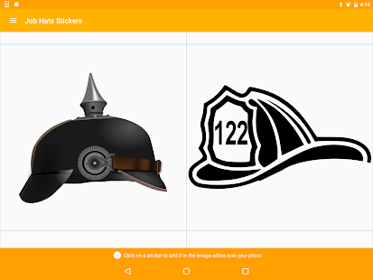 Job Hats Stickers- screenshot thumbnail