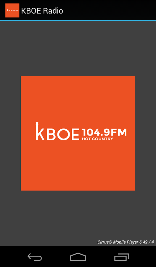KBOE Radio- screenshot