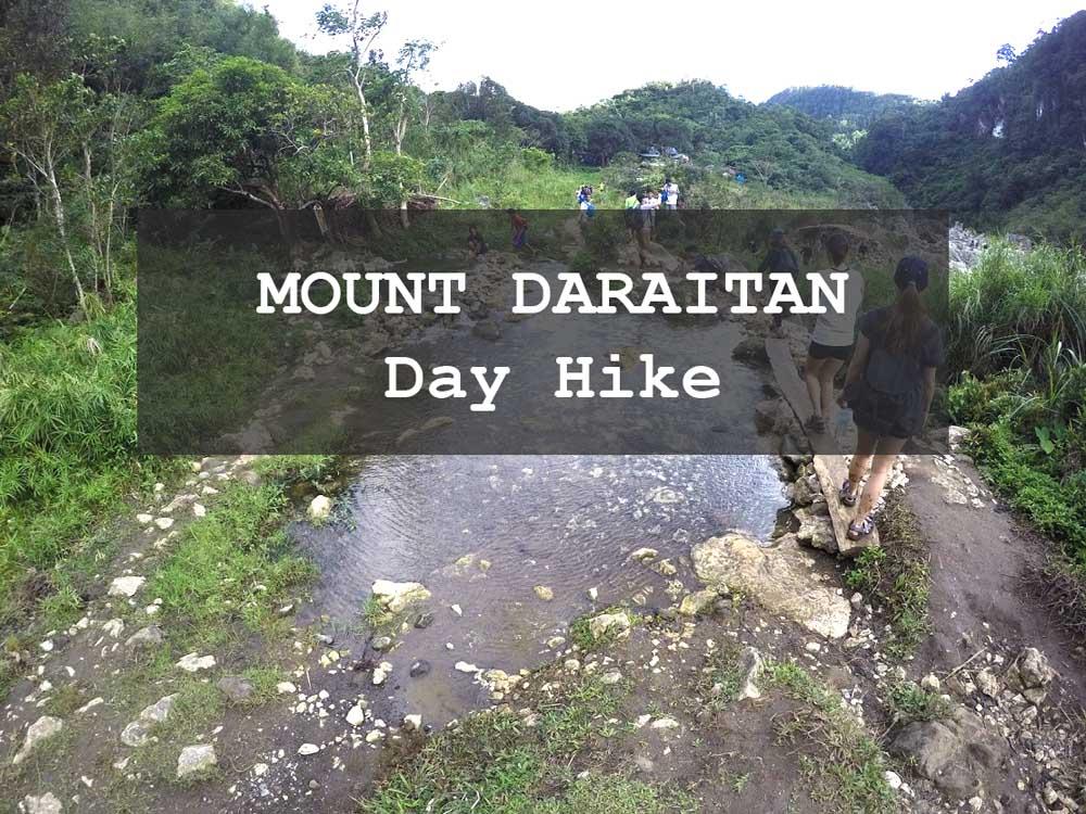 budget mt. daraitan hike day broke travelers cheap