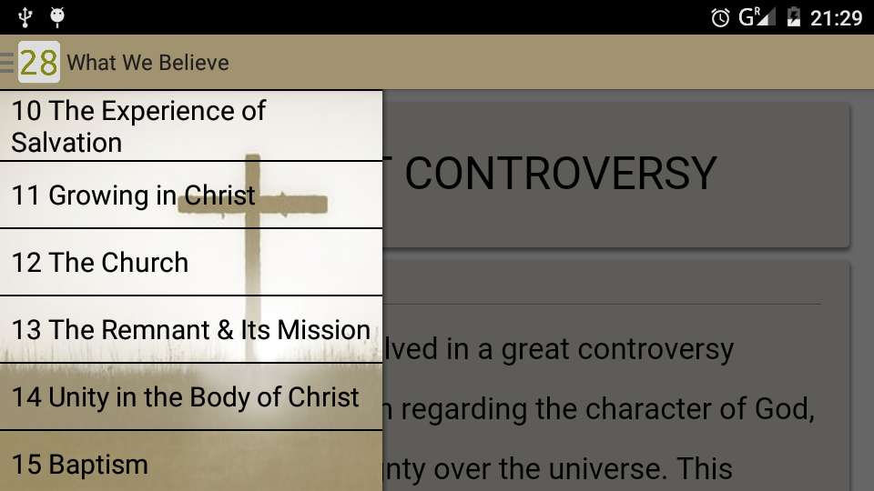 What Adventists Believe- screenshot