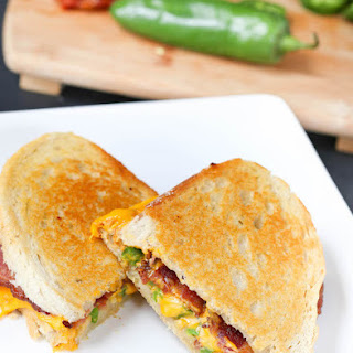 Bacon Jalapeno Grilled Cheese.