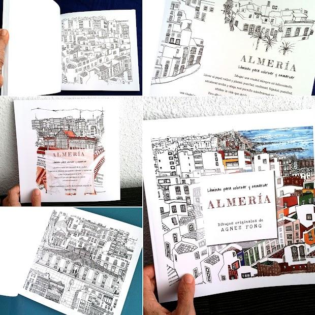 La Almería para colorear de Agnes Fong