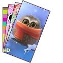 Owl Cartoon Wallpaper HD icon