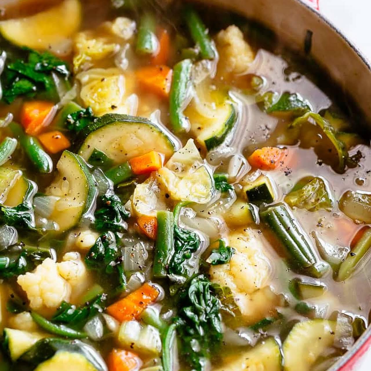 Vegetable Soup Low Carb Diet