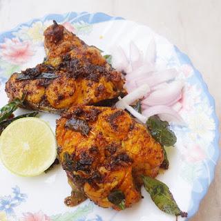 Andhra Fish Fry (chepa Vepudu)