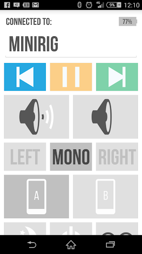 Beta Minirig App