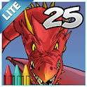 Coloring Book 25 Lite: Dragon icon