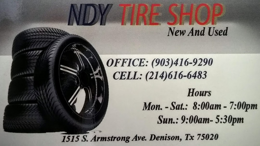 Ndy Tire Shop Tire Shop In Denison