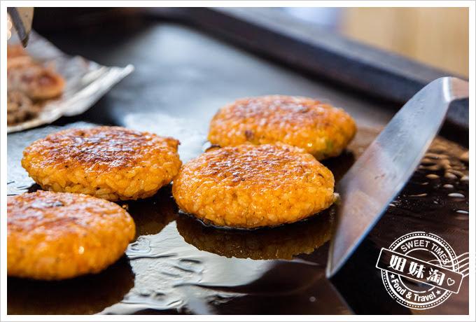 大月韓食創意料理菜單豬肉泡菜米煎餅
