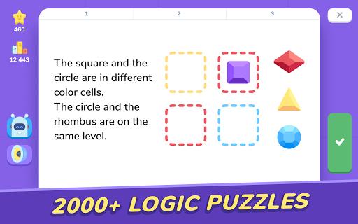 LogicLike: Logic Games, Puzzles & Teasers apktram screenshots 8