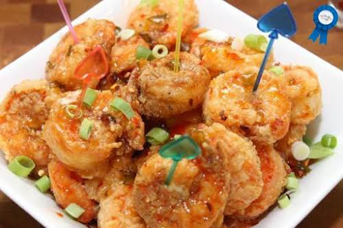 "Game Day Fire Cracker Shrimp ""I made two pounds of these for..."