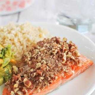 Maple Pecan Salmon.