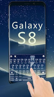 New Galaxy S8 Keyboard Theme - náhled