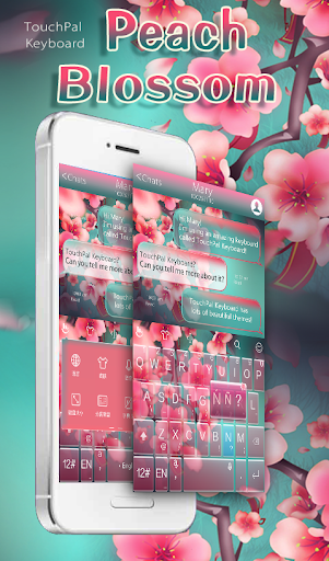 Peach Blossom Keyboard Theme