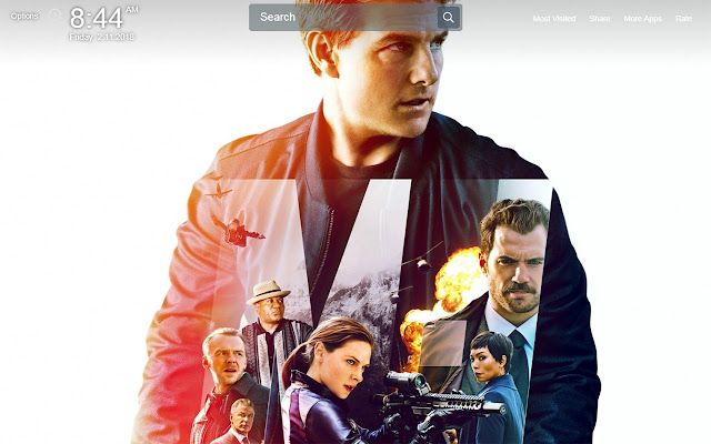 Mission Impossible - Fallout Wallpapers Theme