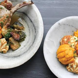 Brined & Pan Seared Pork Chops.