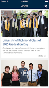 University of Richmond- screenshot thumbnail