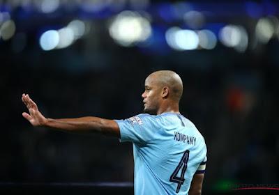 Manchester City aurait posé une condition à la prolongation de Vincent Kompany