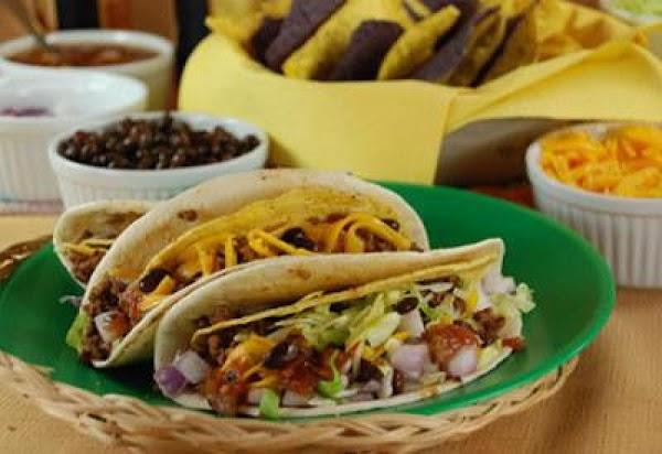 Double Wrap Beef Tacos Recipe