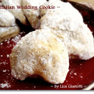 Italian Wedding Cookie
