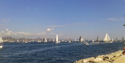Photo: Beaucoup de voiliers de tous types.