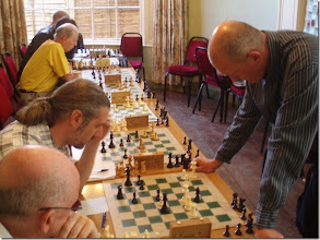 Photo: From top to bottom:Dave Marshall, Gareth Williams, Tony Ransom, Mark Leonard v Andrew Martin and Louis Burton,